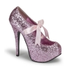 TEEZE-10G Baby Pink Glitter